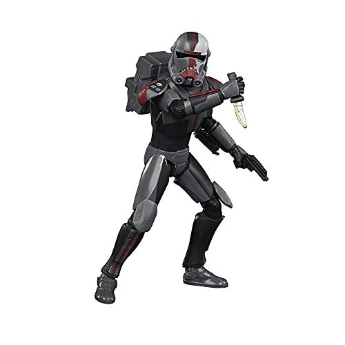 Star Wars F1859 Black Series Bad Batch Hunter 15,2 cm große The...