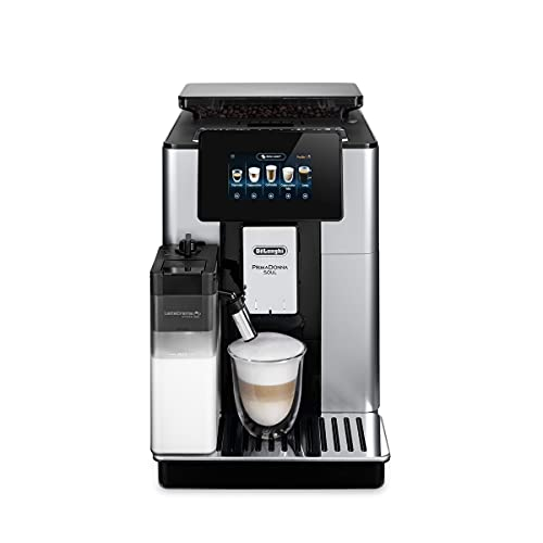 De'Longhi PrimaDonna Soul ECAM 612.55.SB Kaffeevollautomat mit...