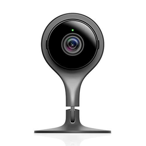 Google Nest Cam Indoor-Kamera, Schwarz. Sicherheit leicht...