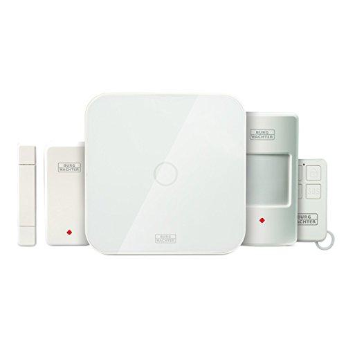BURG-WÄCHTER Alarmanlage Smart Home, Starter Set, Kompatibel mit Amazon Alexa, BURGprotect SET...