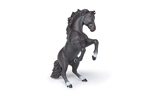 Papo 51522 Steigender Rappe Pferde, FOHLEN UND PONYS Figur,...