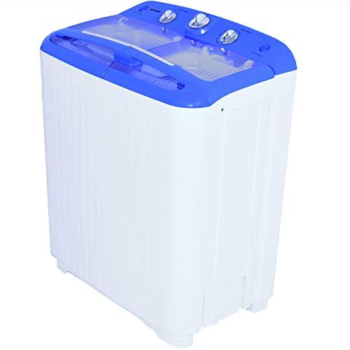 Syntrox Germany A+ 5,2 Kg Waschmaschine mit Pumpe und Schleuder...