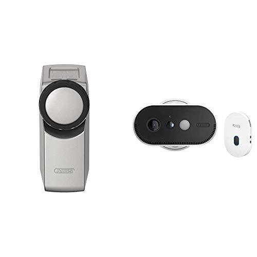 ABUS Funk-Türschlossantrieb, Überwachungskamera silber und...