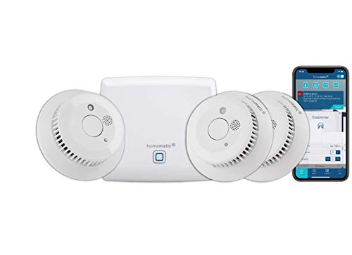Homematic IP Smart Home Starter Set Rauchwarnmelder -...