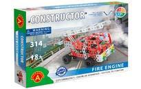 A ALEXANDER 1656 Constructor Feuerwehr Metall Bausatz, 314 Teile...