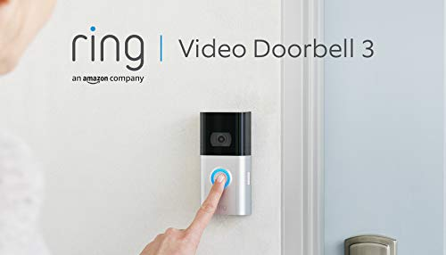 Ring Video Doorbell 3 von Amazon | HD-Video (1080p), verbesserte...