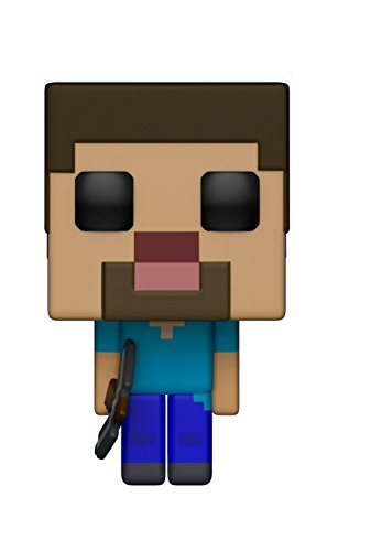 Funko 26383 POP Vinylfigur Games Minecraft Steve