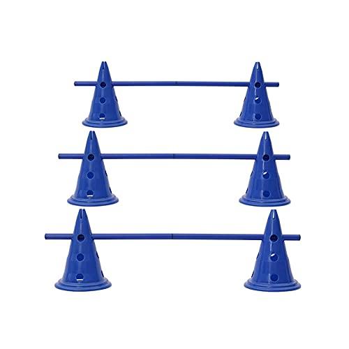 HoitoDeals Blaues Hürden-Set für Hunde, Spring-Trainingsset...
