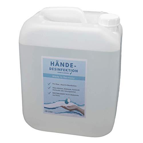 NURFUERDICH NEU 10 L Desinfektionsmittel Hände Flächen Haut...