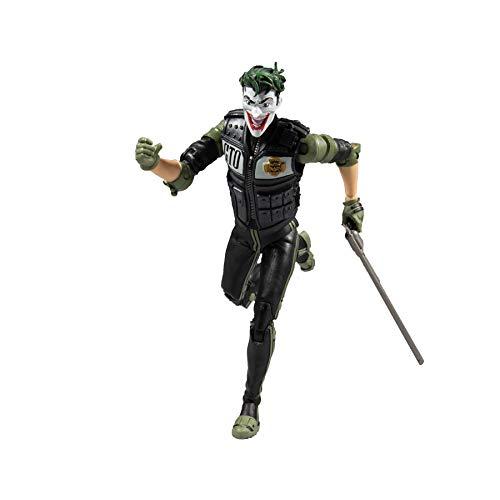 McFarlane DC Collector 7 Actionfigur - WV2 - White Knight Joker