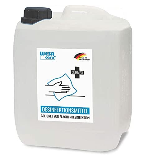 WESA CARE - 10L Flächendesinfektionsmittel im Kanister zur...