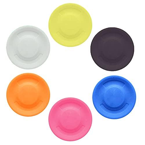 Frisbee 6 Stück Flying Disc Fliegende Spiel Mini Frisbee...