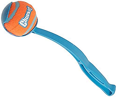 Chuckit! Sporthundeball-Taschenwerfer; Hands Free Pick Up and...