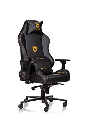 Luxe Ultra Gaming-Stuhl und Schreibtischstuhl, schwarzer Korpus...