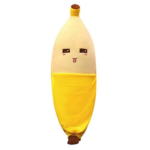 YLHXYPP Flauschig 50cm niedlich Banane Kissen Lange...