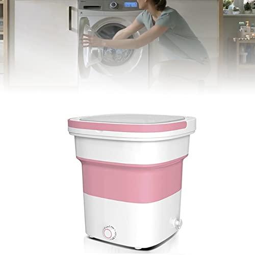 WXking Faltbare tragbare Mini-Waschmaschine, mit Ultraschall...