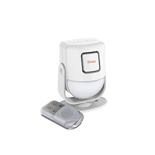 tiiwee X4 PIR Bewegungsmelder Alarm mit Fernbedienung - 125 dB -...