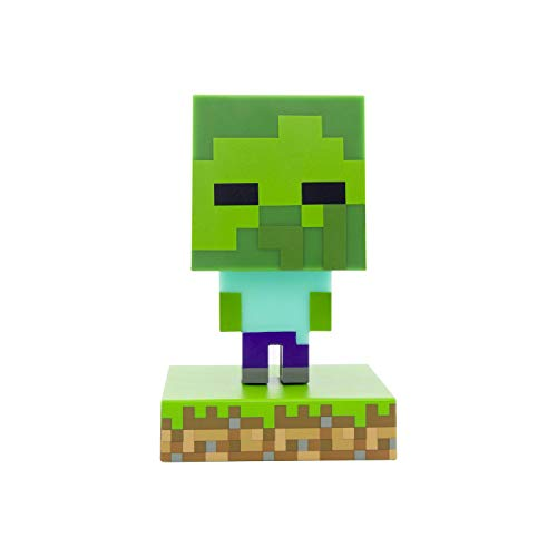 Paladone Minecraft Zombie Icon Light BDP Mini-Nachtlampe mit...