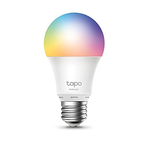 TP-Link Tapo L530E smarte WLAN Glühbirne E27, Mehrfarbrige...