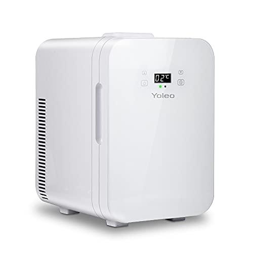 YOLEO mini Kühlschrank 10L, Warmhaltebox Kühlbox Auto mit...