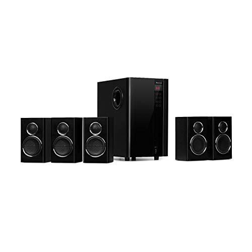 auna Areal Touch Surround Sound System 5.1-Kanal Heimkinosystem...