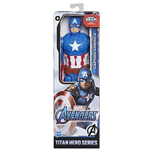 Hasbro E7877ES0 Marvel Avengers Titan Hero Serie Captain America,...