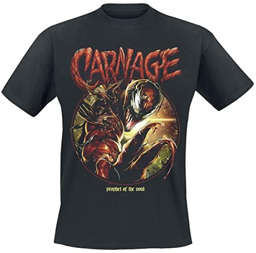Venom (Marvel) Carnage Prophet Männer T-Shirt schwarz L
