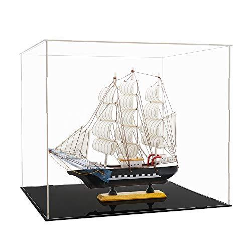 Tingacraft Acryl Vitrine 400 x 365 x 350 mm für Piratenschiff /...