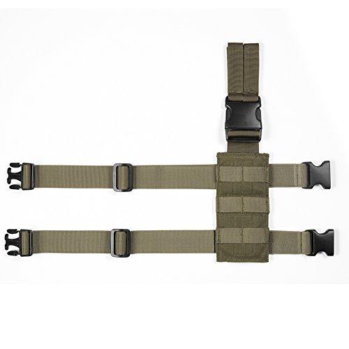 OneTigris Taktische Molle Beinplatte Beinplatform für...