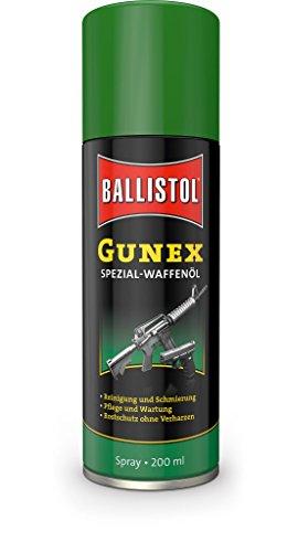 Ballistol Unisex Waffenpflege Gunex Waffenöl Spray, Mehrfarbig,...
