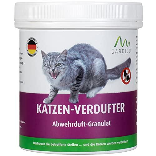 Gardigo Katzen Verdufter Granulat für Haus, Garten |...