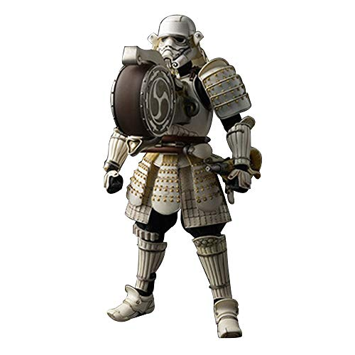 Cylficl. Star Wars Animationsmodell, Stormtrooper-Modellstatue, Schreibtischdekoration, 18 cm