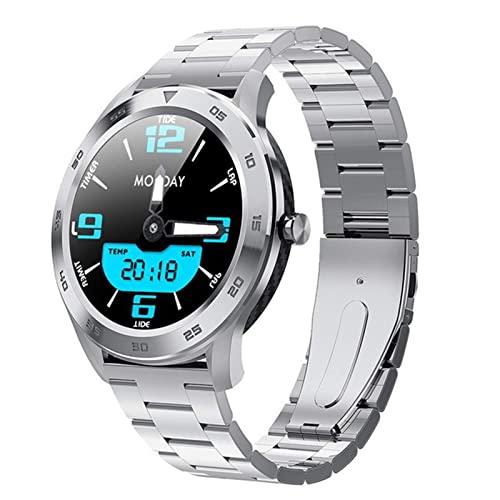CNZZY Smartwatches Herren DT98 ECG 1.3 Full Round HD Screen...