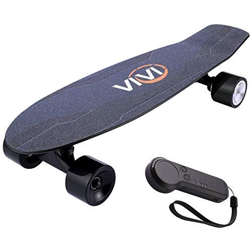 Vivi H2S-2 Elektro Skateboard, Geschenkpaket, Jugend Elektro Longboard mit...