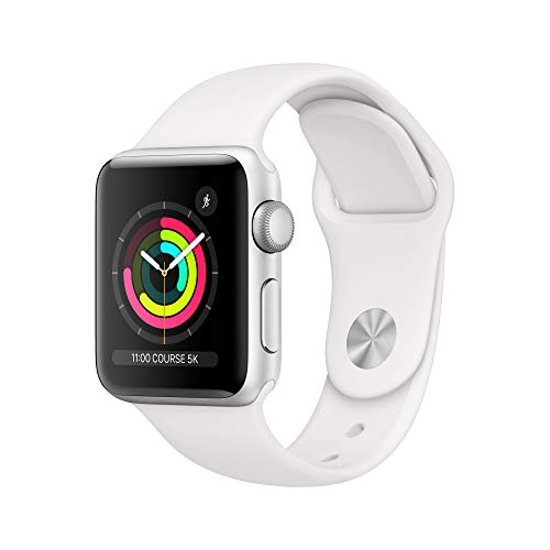 Apple Watch Series 3 (GPS, 38mm) Aluminiumgehäuse Silber -...