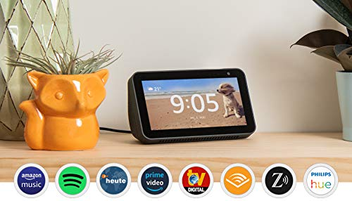 Echo Show 5, Zertifiziert und generalüberholt, kompaktes Smart...
