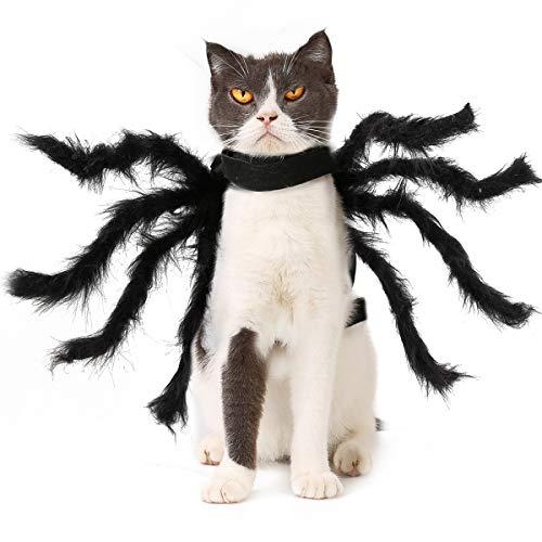 PEDOMUS Hundekostüm Halloween Kostüm Hund Katze Spinne Kostüme...