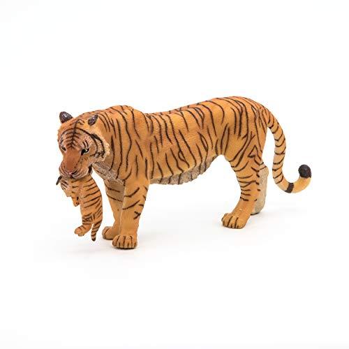 Papo 50118 Tigerin mit Jungtier WILDTIERE DER Welt Figur,...