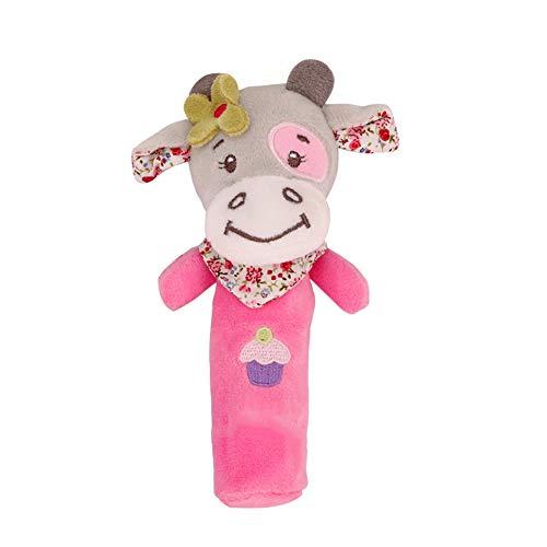 bulingbuling Baby-kalb-Rattle-plüsch-Spielzeug Baby-krippe...