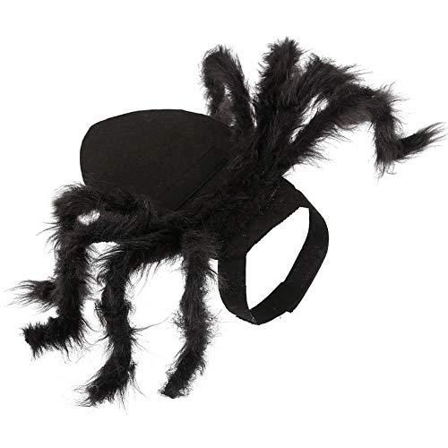 TAKEFUNS Halloween-Tarantel Kostüme, Spinnen-Hundekostüm,...