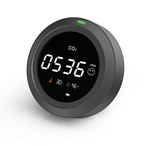CO2 Messgerät-LifeBasis 3 in 1 Kohlendioxid Detektor,...