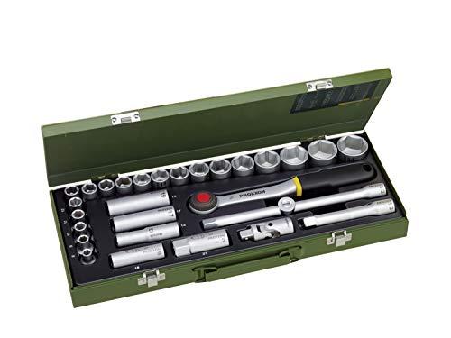 PROXXON Steckschlüsselsatz, Für die kraftvolle Mechanik mit...