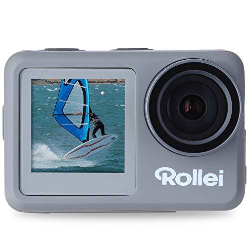 Rollei Action-Cam 9s Plus I 4K 60fps Unterwasserkamera mit...