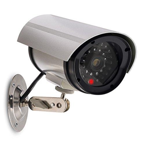 kwmobile Kamera Dummy Überwachungskamera Attrappe - Fake Camera...