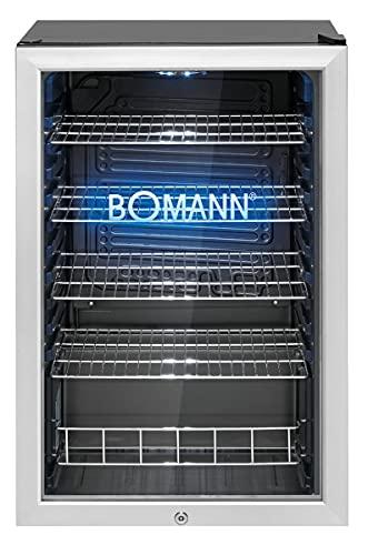 Bomann KSG 7284.1 Glastür-Kühlschrank / 115 Liter...
