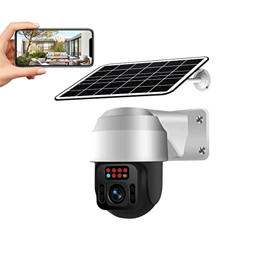 WUIO Solar-Überwachungskameras Im Freien, 360 Wireless...
