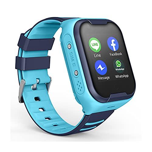 HDSJJD Smartwatch Für Kinder, WiFi Kinder Pädagogische...