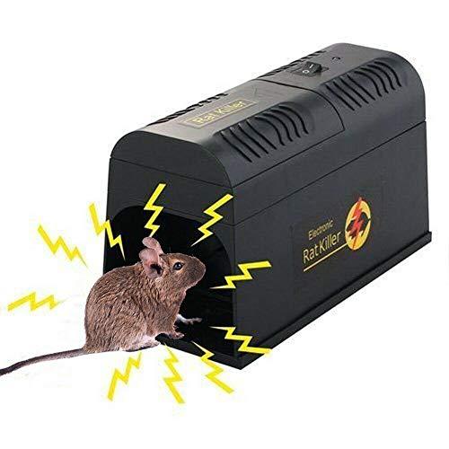 8KV Elektronische Rattenfalle Mäusefalle, Futchoy Elektrischer...