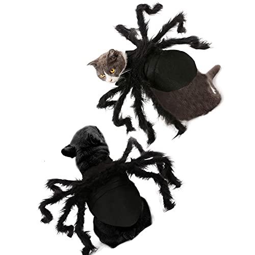 Haustier Kleidung Spinne Hund Katze Kostüm S/M Größe Spinne...