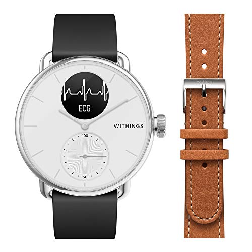 Withings ScanWatch mit Zusatzarmband im Bundle - Hybrid...